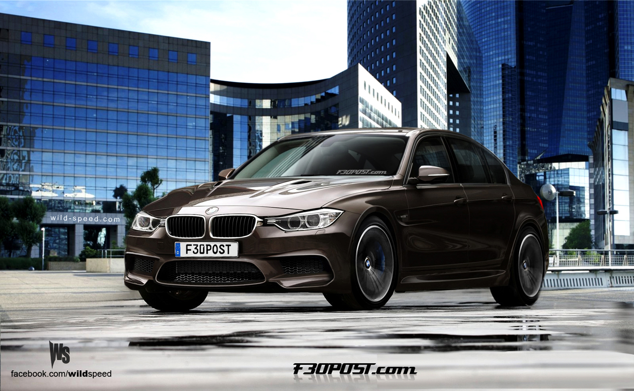 new 2014 bmw m3 rendering photo gallery autoevolution. Black Bedroom Furniture Sets. Home Design Ideas