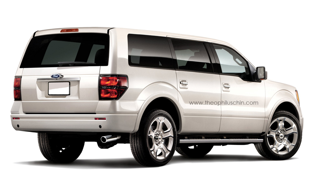 New 2014 ford expedition rendering autoevolution