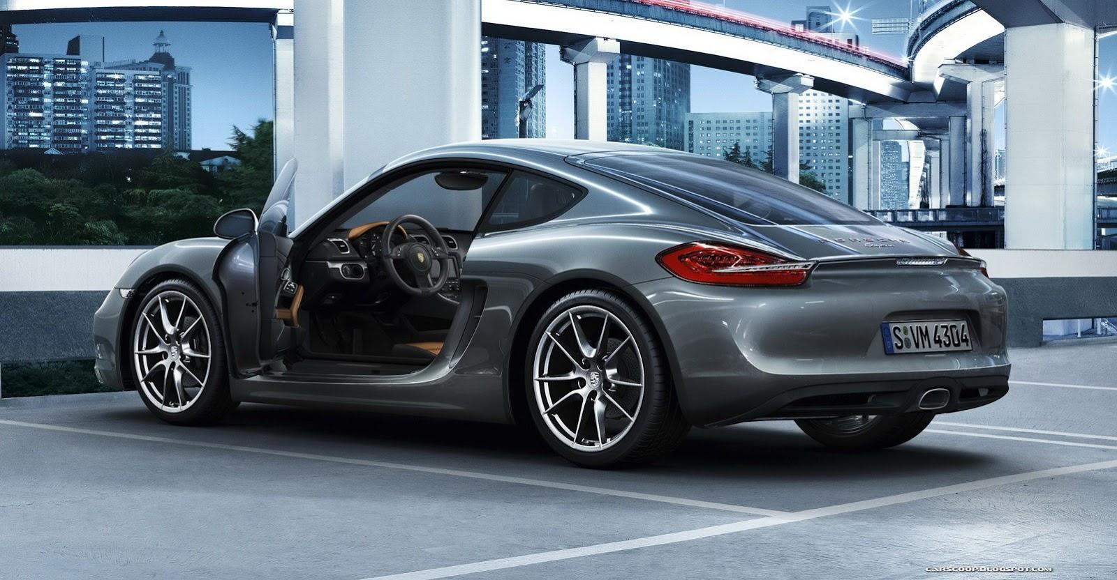 New 2014 Porsche Cayman Debuts In La Video Autoevolution