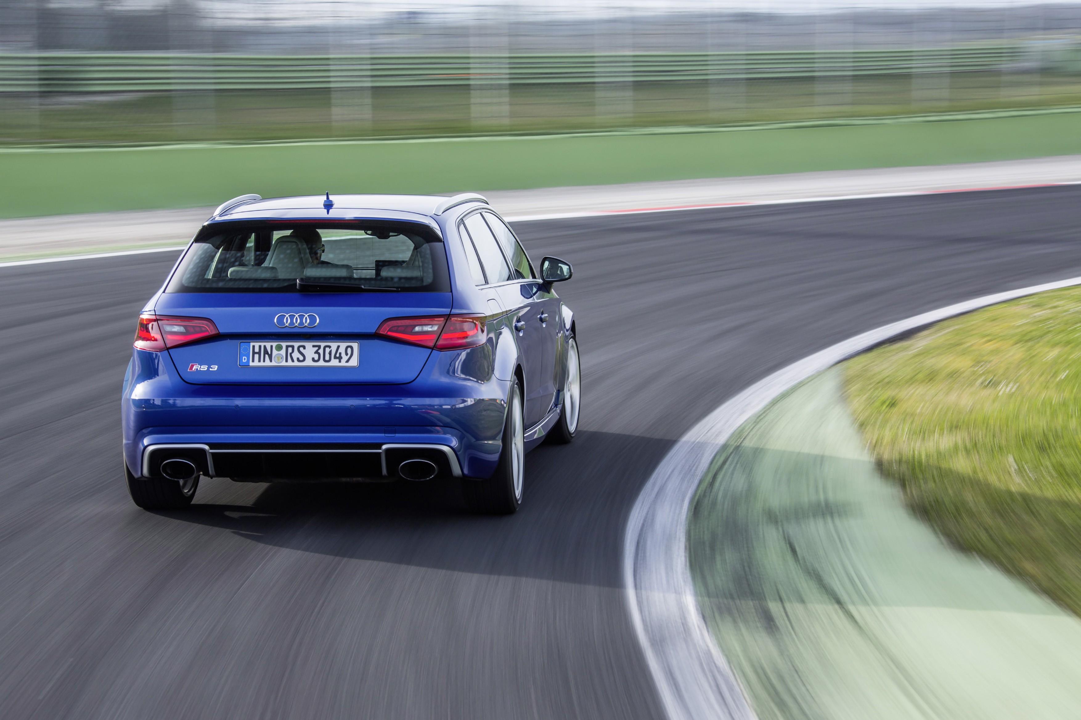 New 2015 Audi Rs3 Photos Show Nardo Grey Catalunya Red