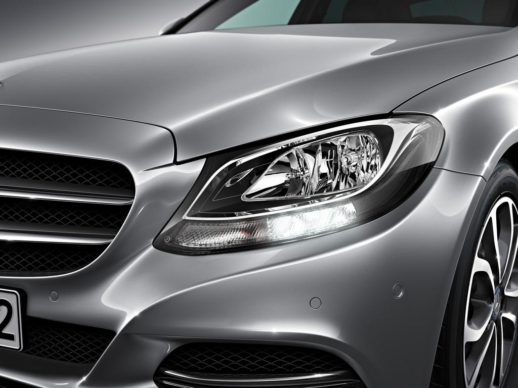 New 2015 C Class W205 Has Three Different Headlights