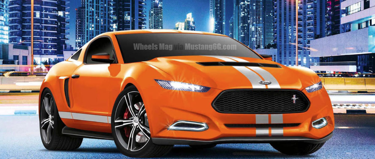 New 2015 Ford Mustang Details, Renderings Surface - autoevolution