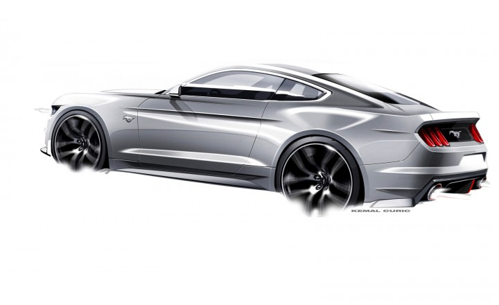 New 2015 Ford Mustang Sketches Surface Autoevolution