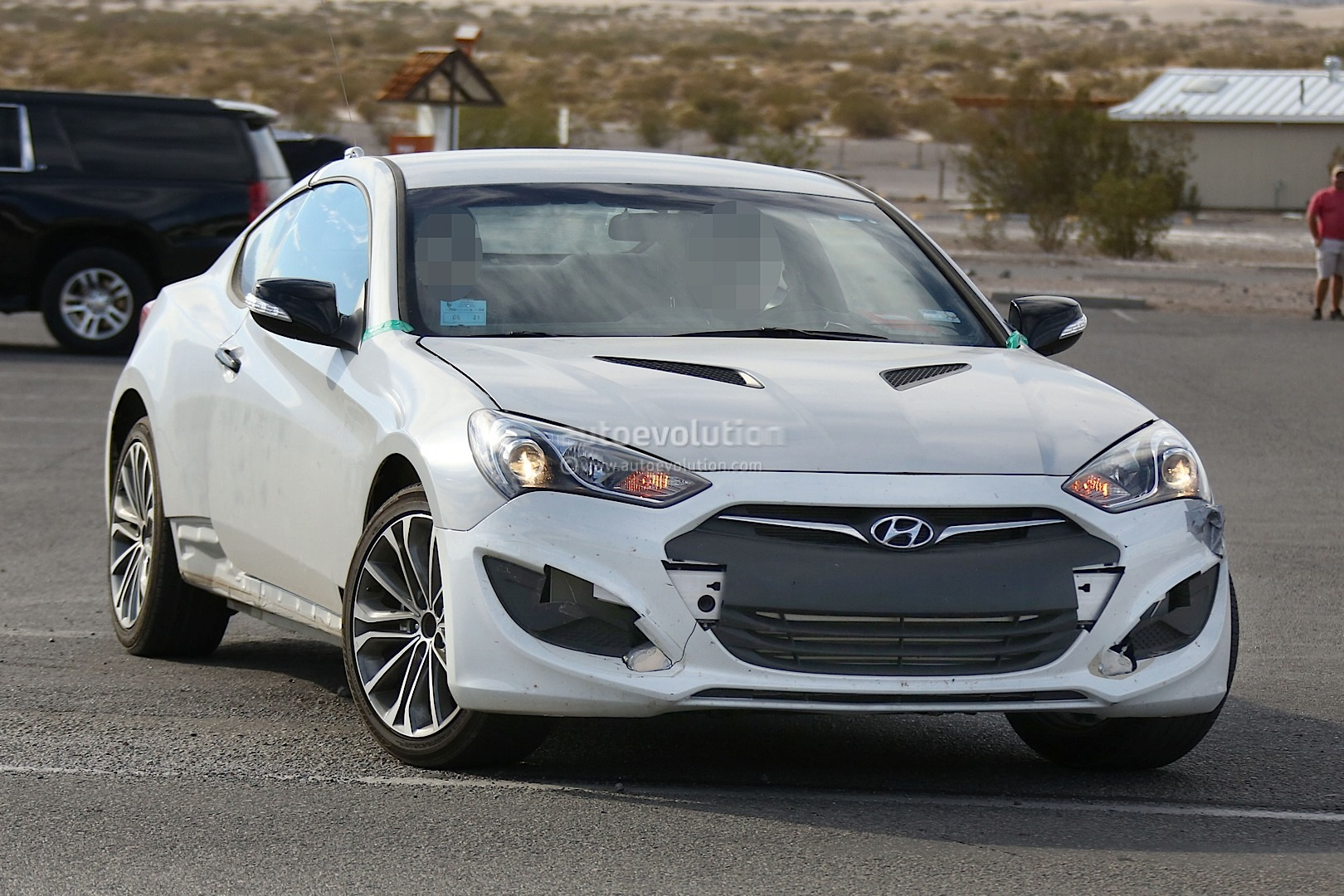 New 2017 Hyundai Genesis Coupe Spied For The