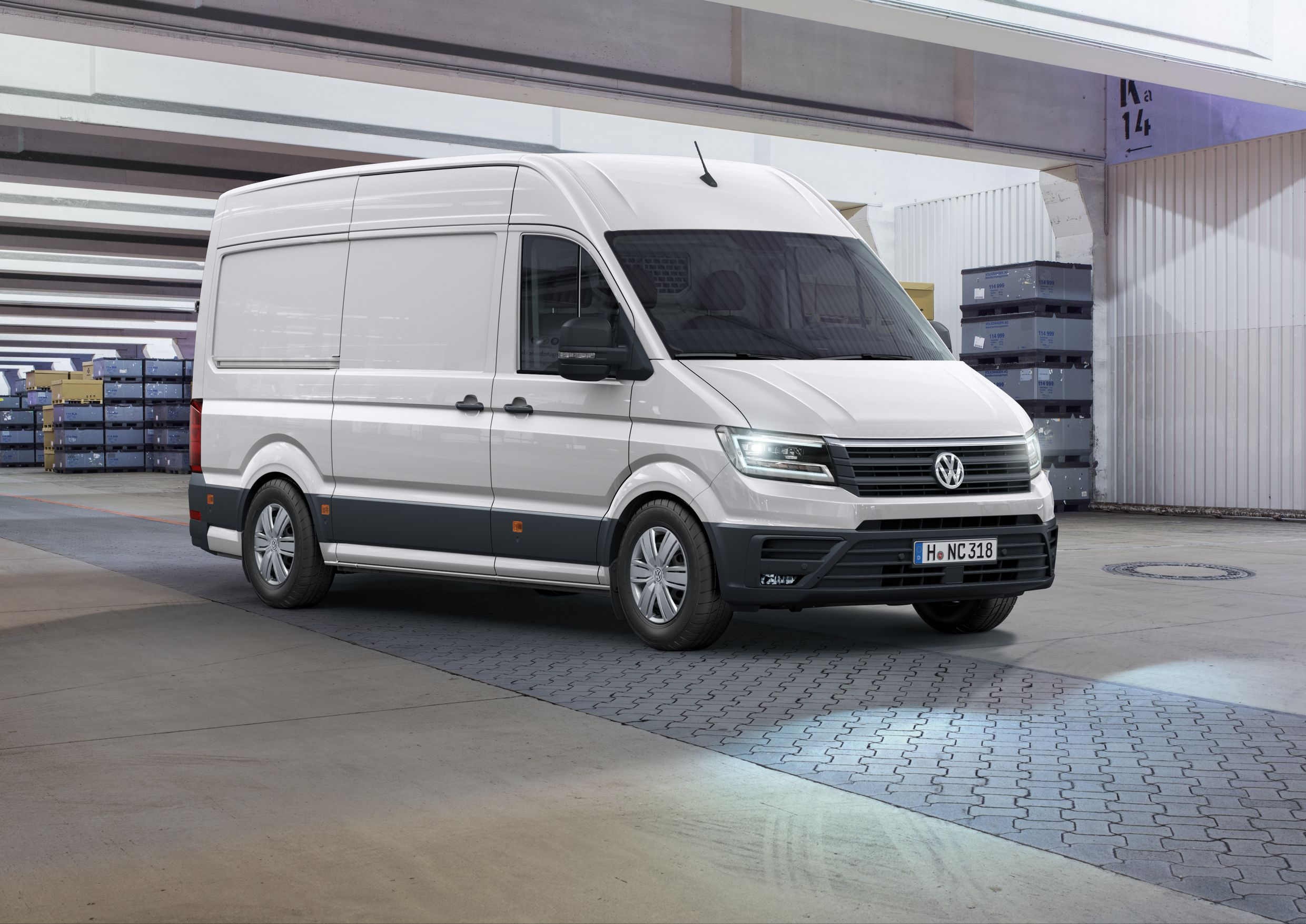 Noul Sprinter 2018 >> New 2017 Volkswagen Crafter Debuts with FWD Option, US Market Entry Possible - autoevolution
