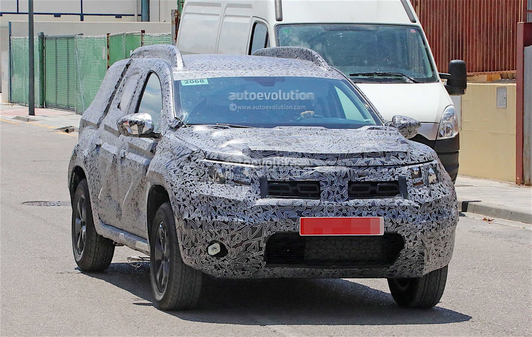 new 2018 dacia duster expected to be revealed in paris on june 22 autoevolution. Black Bedroom Furniture Sets. Home Design Ideas