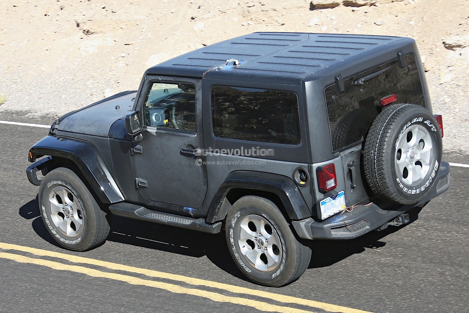 New 2018 Jeep Wrangler Spied Testing In The Desert Will