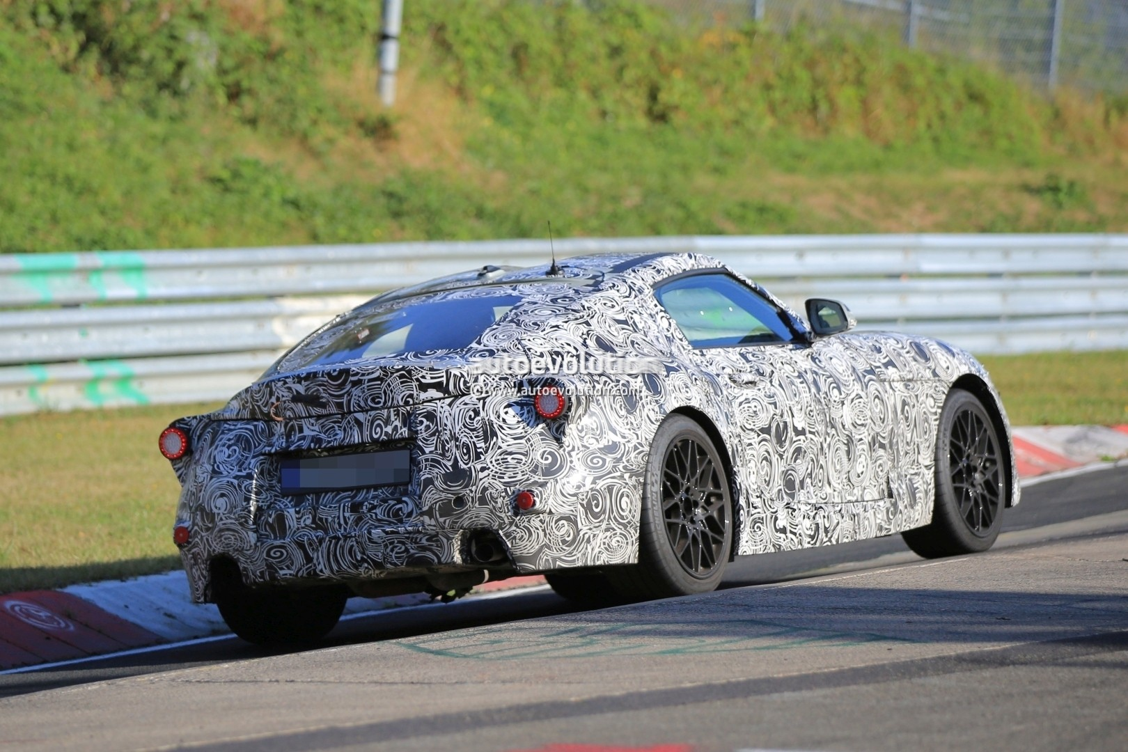New Toyota Supra Sounds Awful In Nurburgring Spy Video