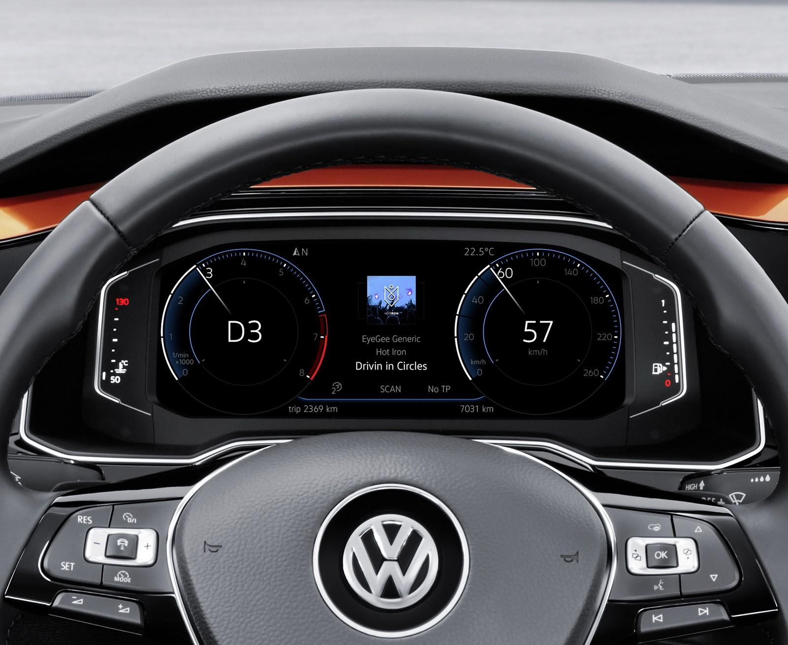 Mini Cooper Evolution >> New 2018 Volkswagen Polo Revealed, Has Coolest Dash Ever and 200 HP GTI - autoevolution