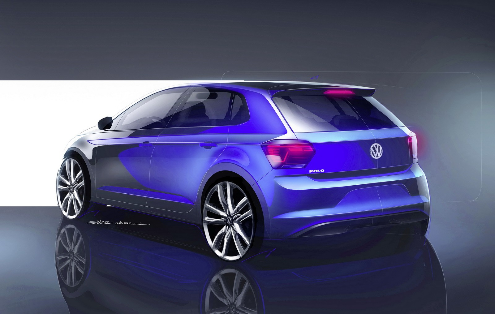 New 2018 Volkswagen Polo Revealed, Has Coolest Dash Ever ...