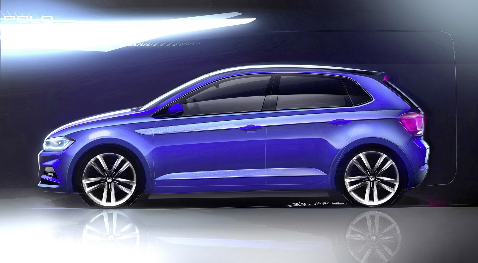 new 2018 volkswagen polo revealed has coolest dash ever and 200 hp gti autoevolution. Black Bedroom Furniture Sets. Home Design Ideas