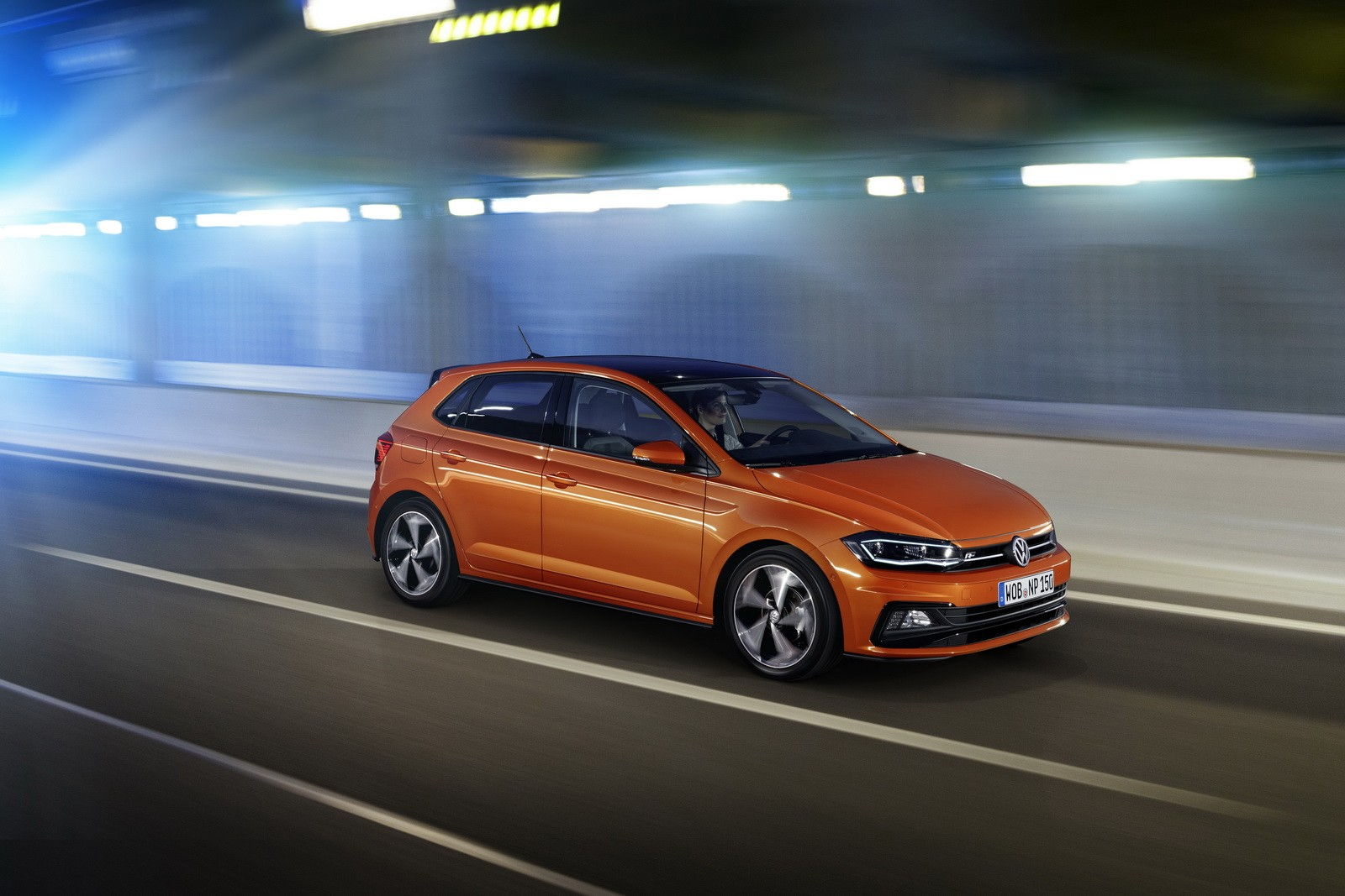 New 2018 volkswagen polo revealed has coolest dash ever for Interieur nouvelle polo