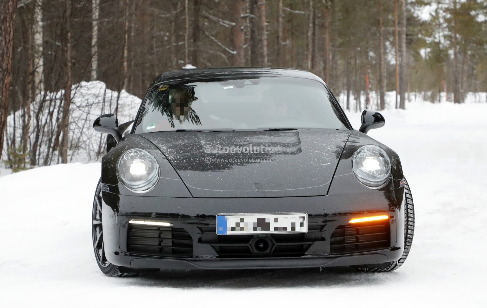 New 2019 Porsche 911 Spotted On German Autobahn Shows Its