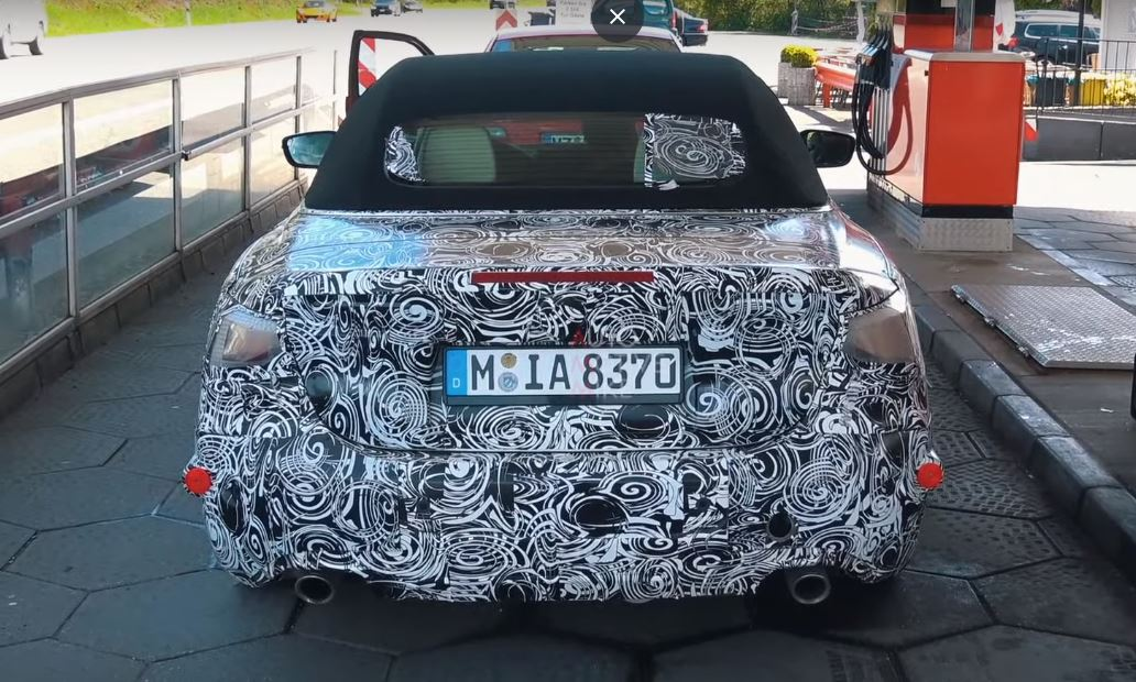 new 2020 bmw 4 series convertible spotted on nurburgring. Black Bedroom Furniture Sets. Home Design Ideas