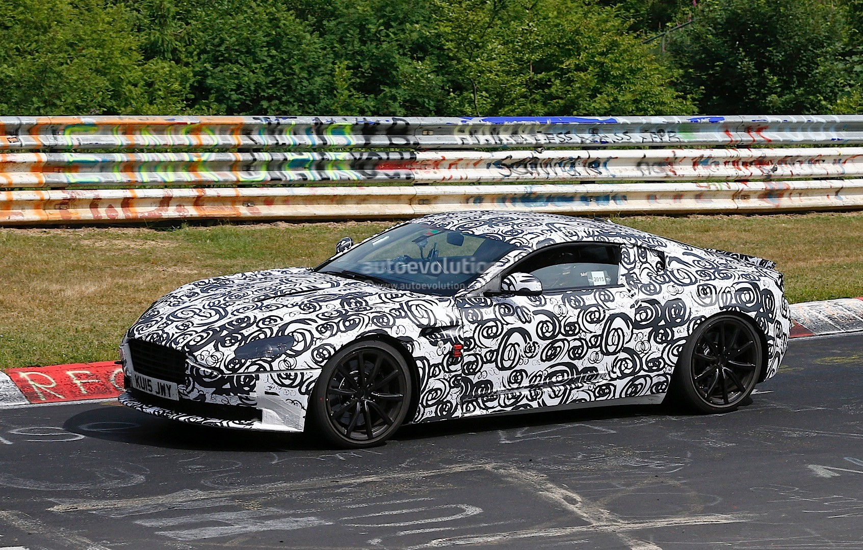 New Aston Martin Db11 Prototype Looks Like A Work In