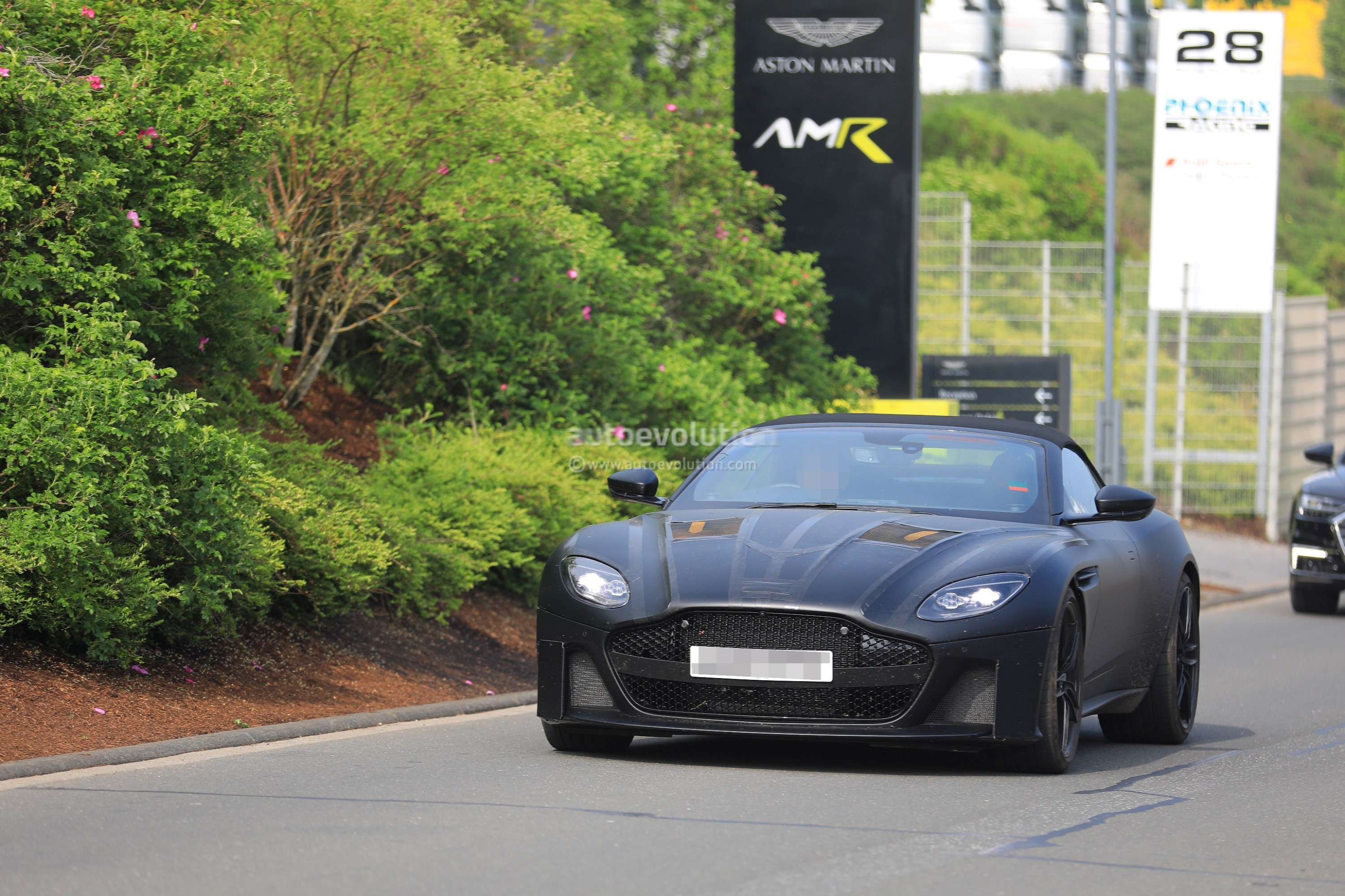 New Aston Martin Dbs Superleggera Spied In Volante Flavor