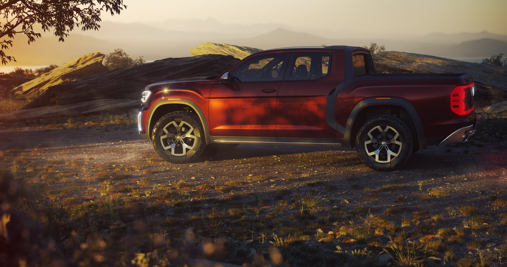 Best Diesel Suv >> New Atlas Tanoak Pickup Concept Shows Volkswagen Wants America Back - autoevolution