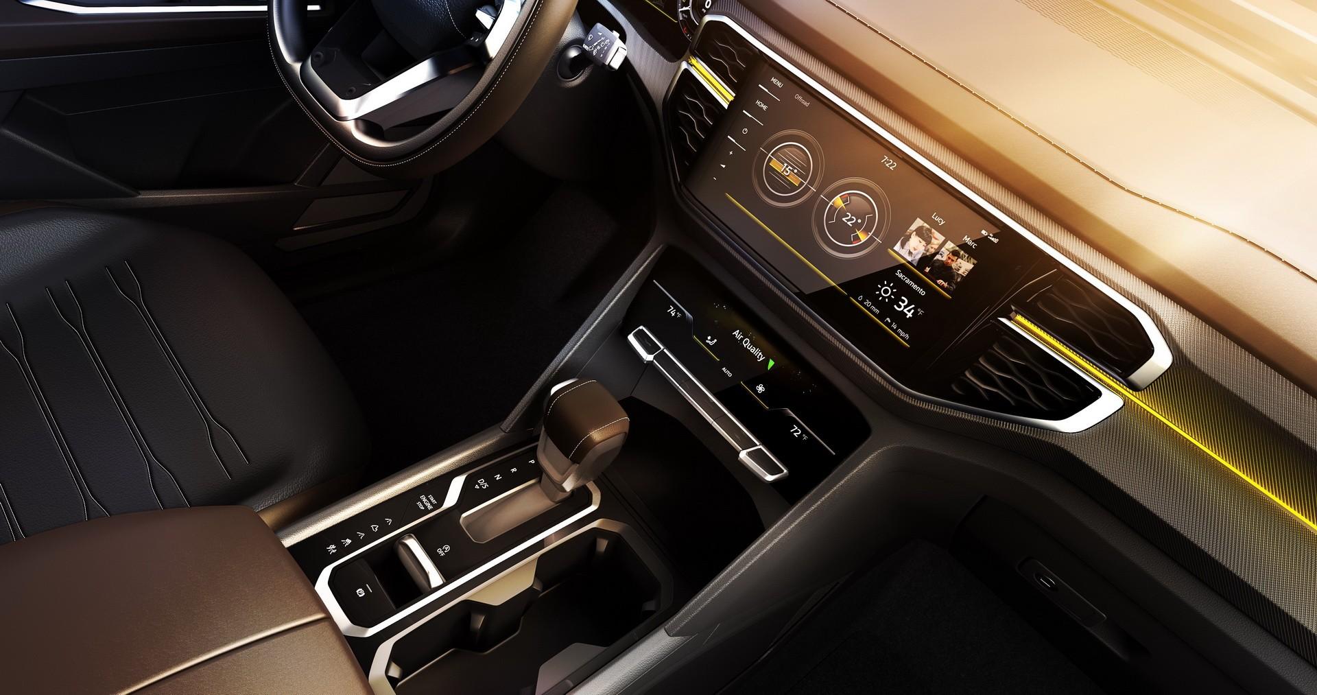 New Atlas Tanoak Pickup Concept Shows Volkswagen Wants
