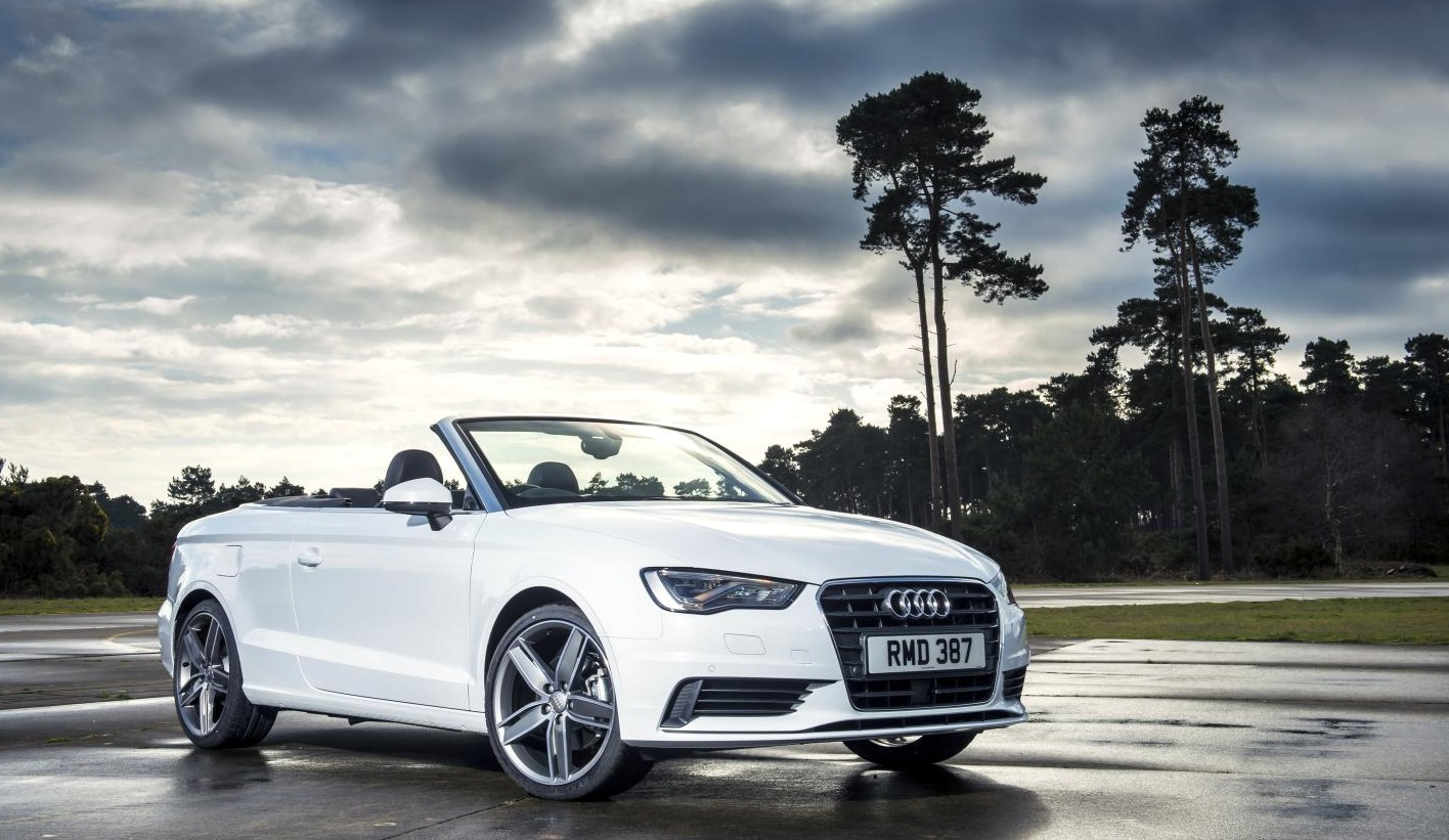 new audi a3 cabriolet gets 1.6 tdi base engine, needs 11.4 to