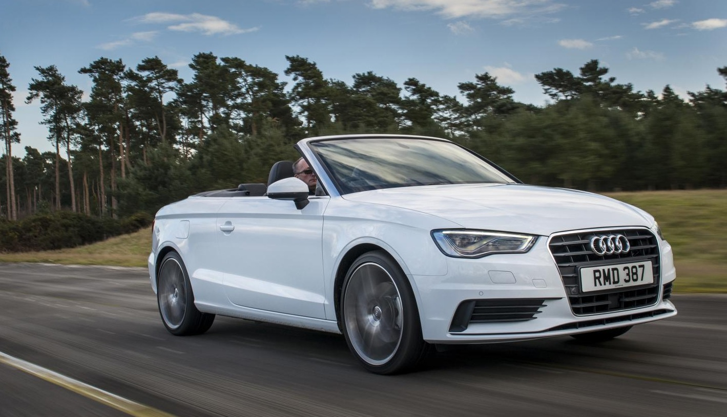 New Audi A3 Cabriolet Gets 1.6 TDI Base Engine, Needs 11.4 to reach