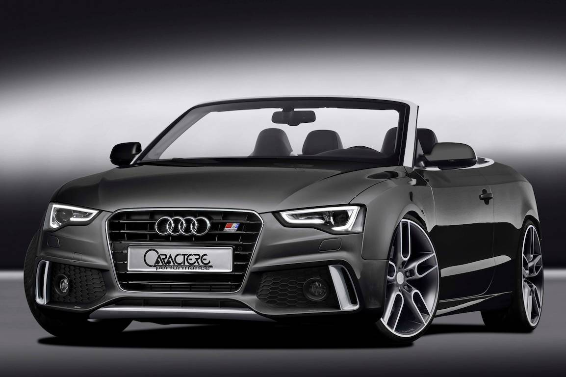 new audi a5 cabrio kit from caractere performace. Black Bedroom Furniture Sets. Home Design Ideas