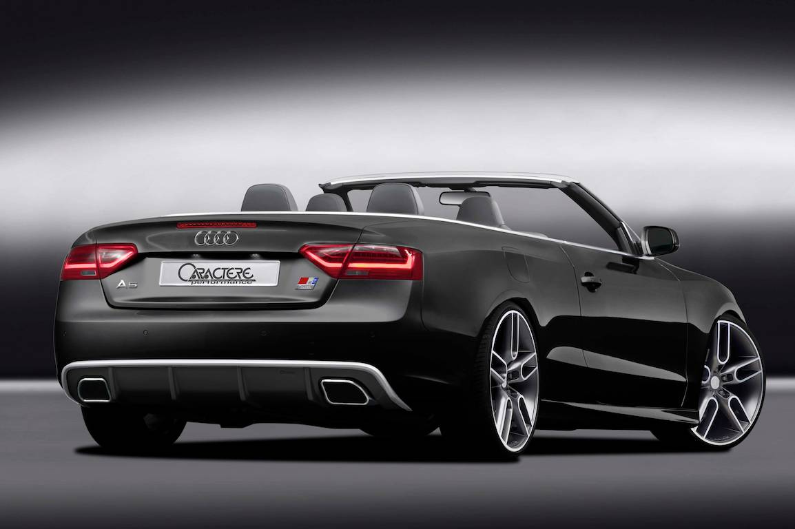 new audi a5 cabrio kit from caractere performace autoevolution. Black Bedroom Furniture Sets. Home Design Ideas