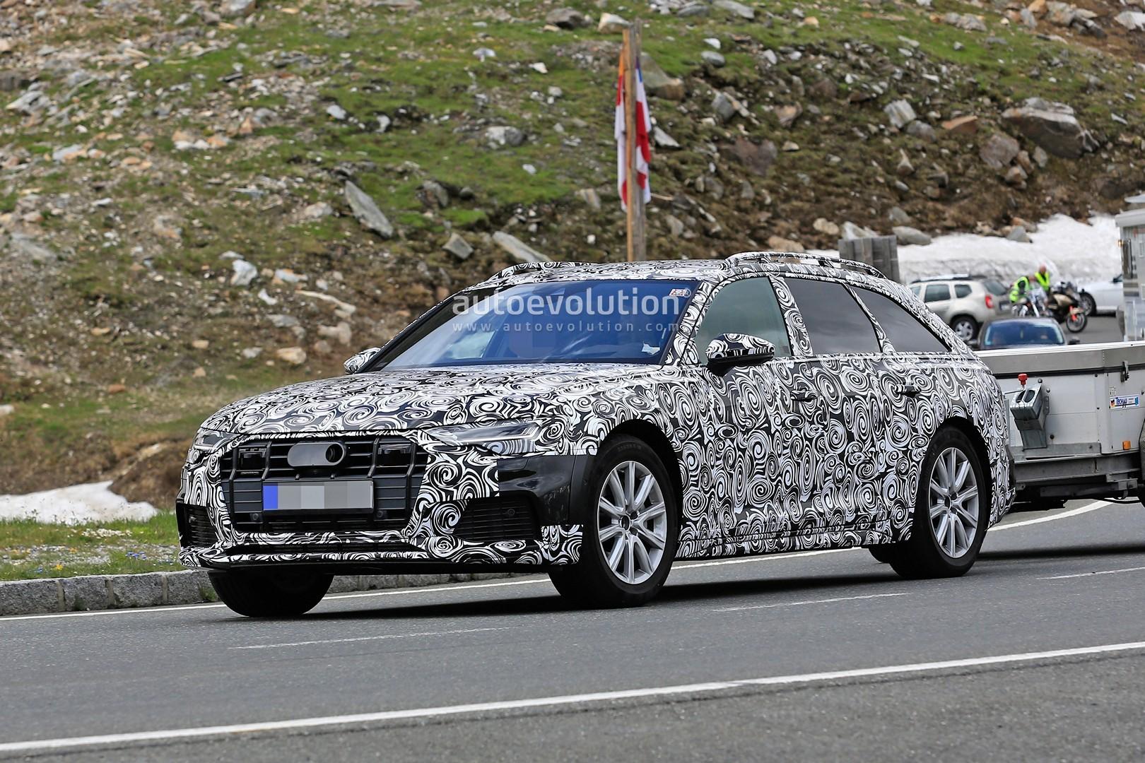 Spyshots 2019 Audi A6 Allroad Quattro Starts Testing Autoevolution