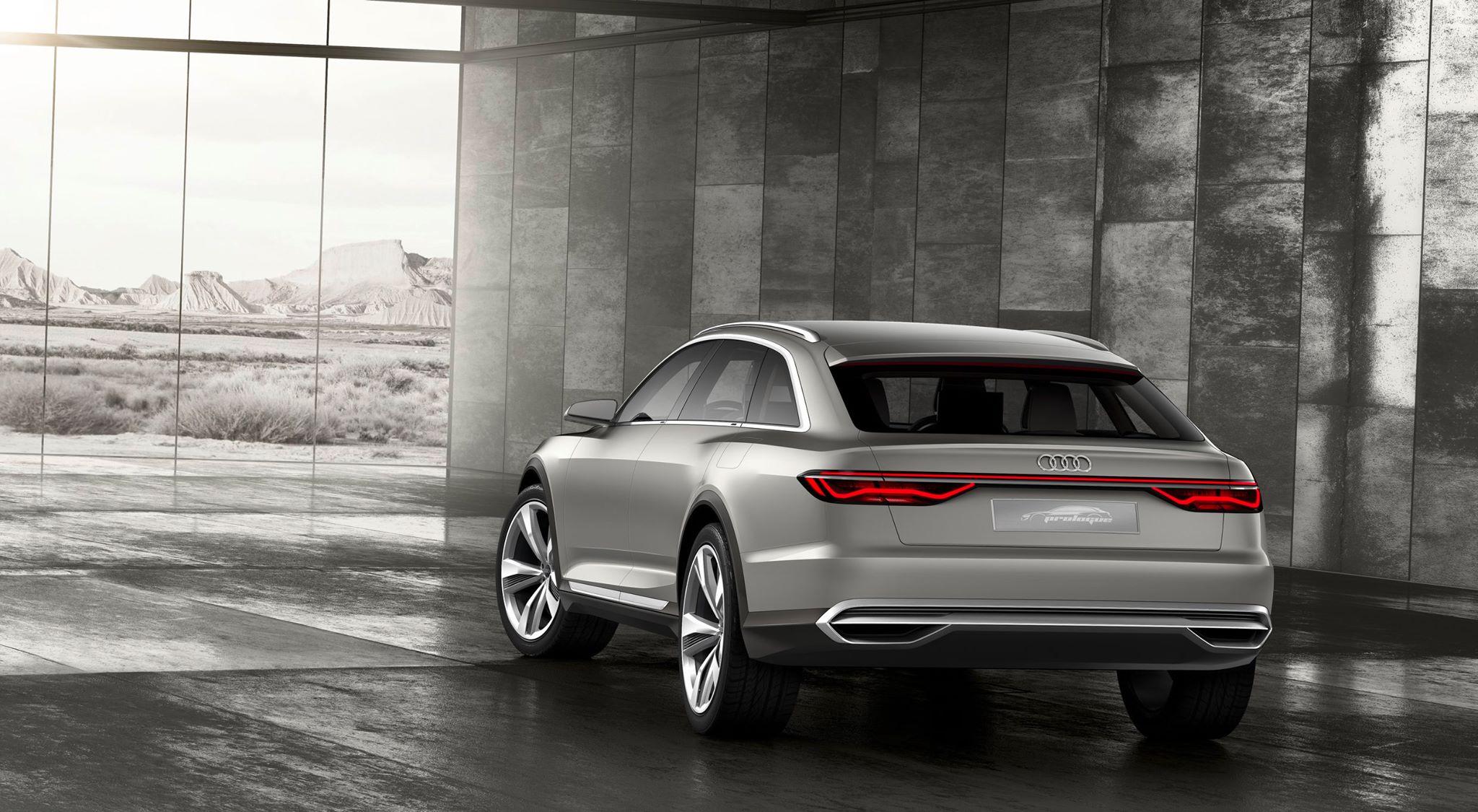 Audi Prologue Allroad Quattro Concept ...