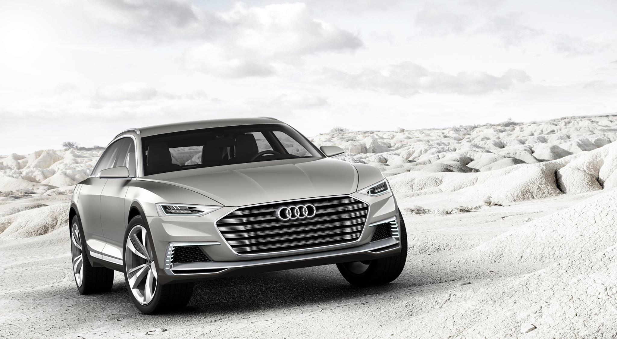 New Audi Prologue allroad Concept Previews Flagship Softroader at