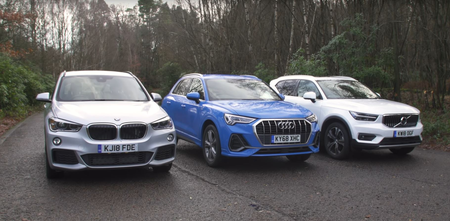 New Audi Q3 Tested Against Bmw X1 And Volvo Xc40 With Surprising
