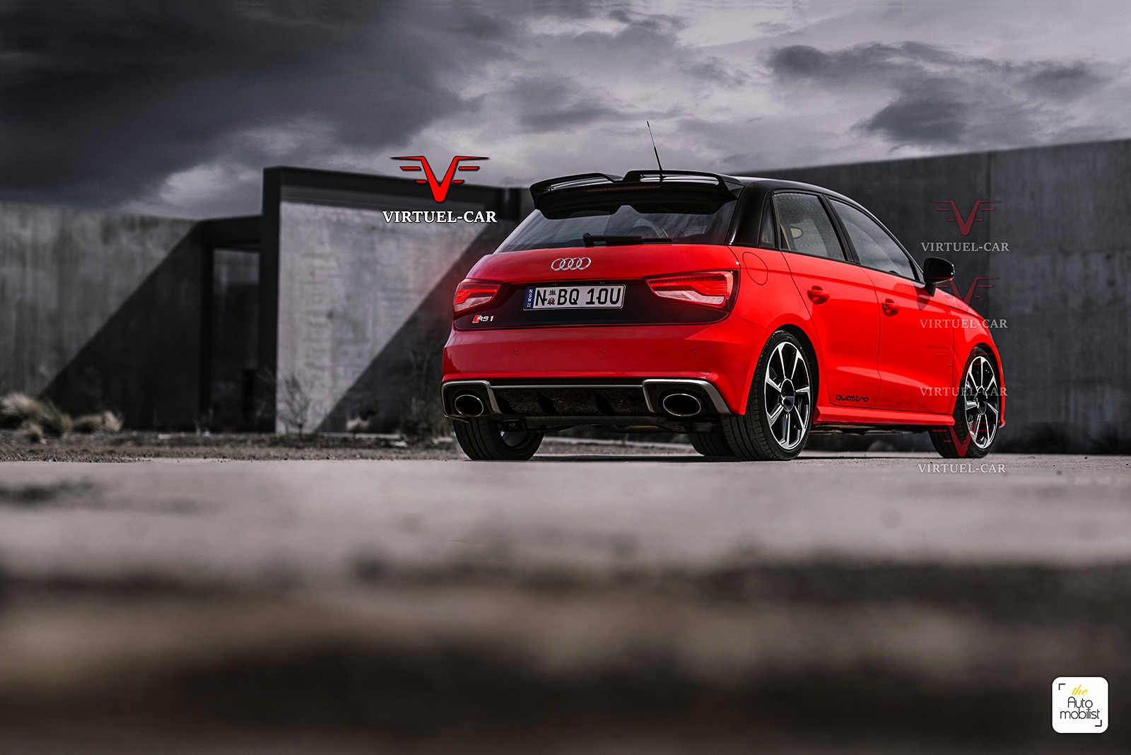 new audi rs1 rendering looks a lot like the rs3. Black Bedroom Furniture Sets. Home Design Ideas