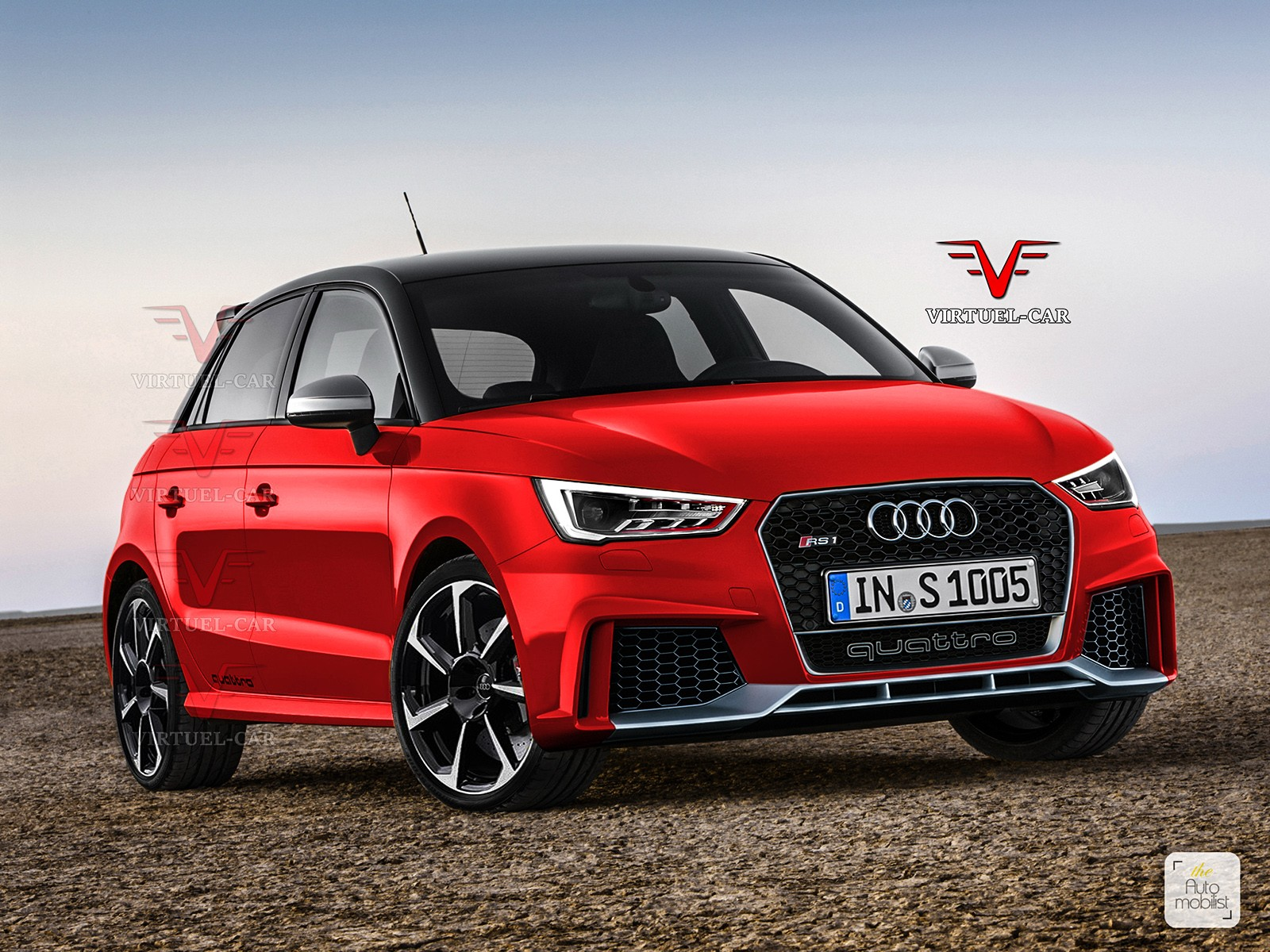 audi rs1 with more powerful 2 0l turbo is possible autoevolution. Black Bedroom Furniture Sets. Home Design Ideas