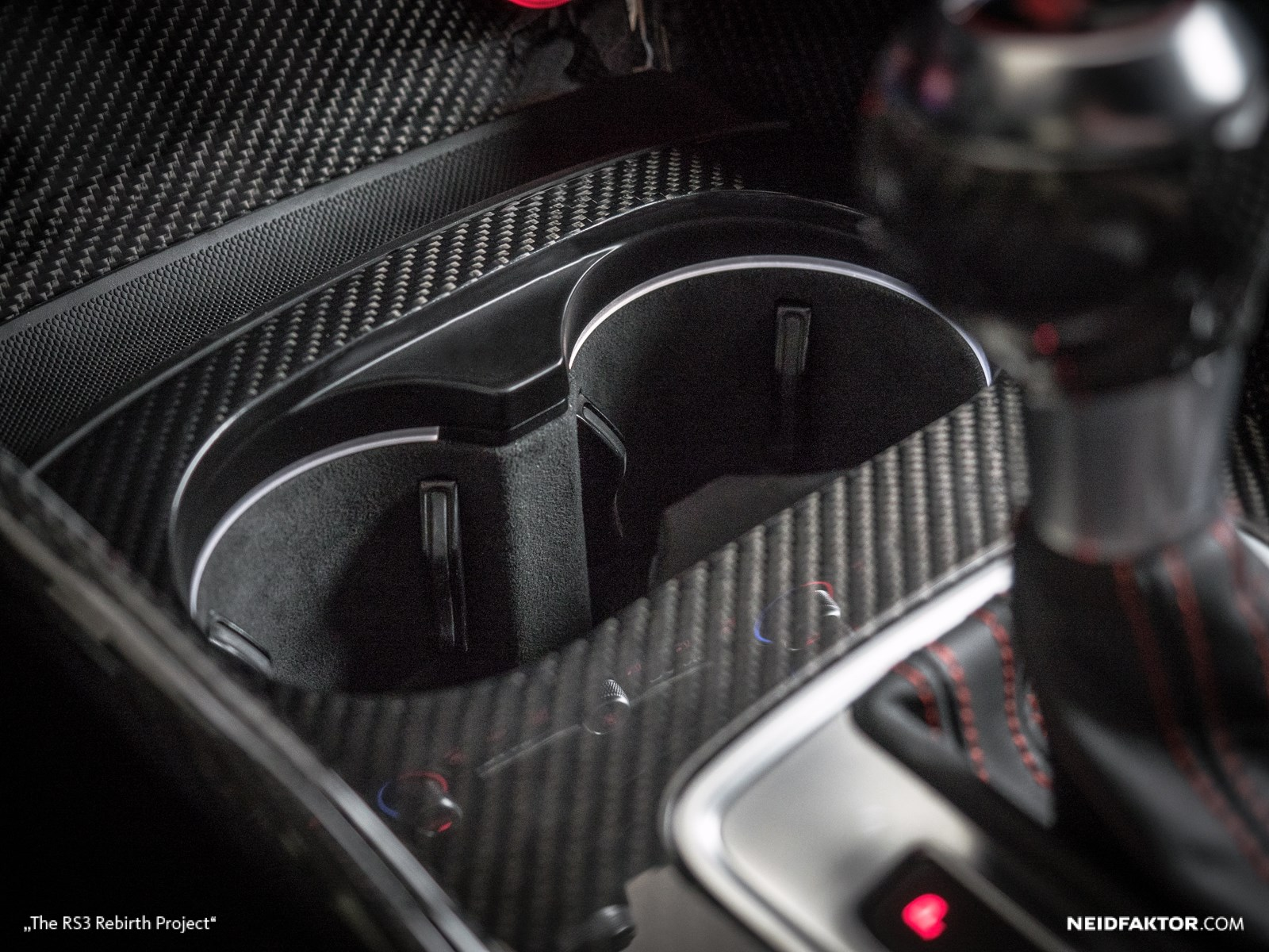 New Audi Rs3 Gets Carbon Fiber And Alcantara Interior From Neidfaktor Autoevolution