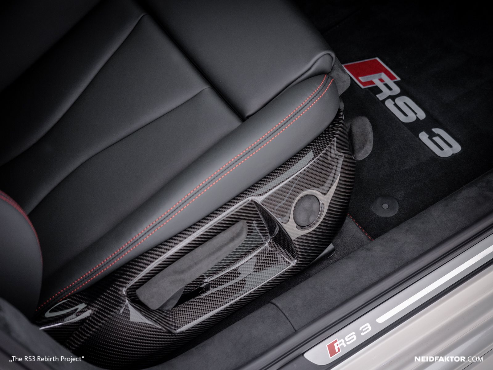 New Audi Rs Gets Carbon Fiber And Alcantara Interior From Neidfaktor Photo Gallery on Mercedes Benz Autonomous Car