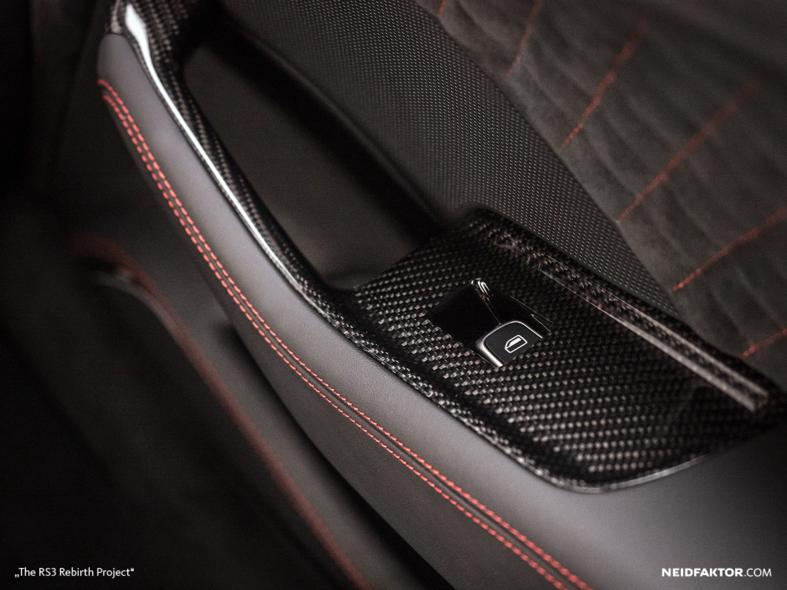 Audi Rs3 Sportback >> New Audi RS3 Gets Carbon Fiber and Alcantara Interior from ...