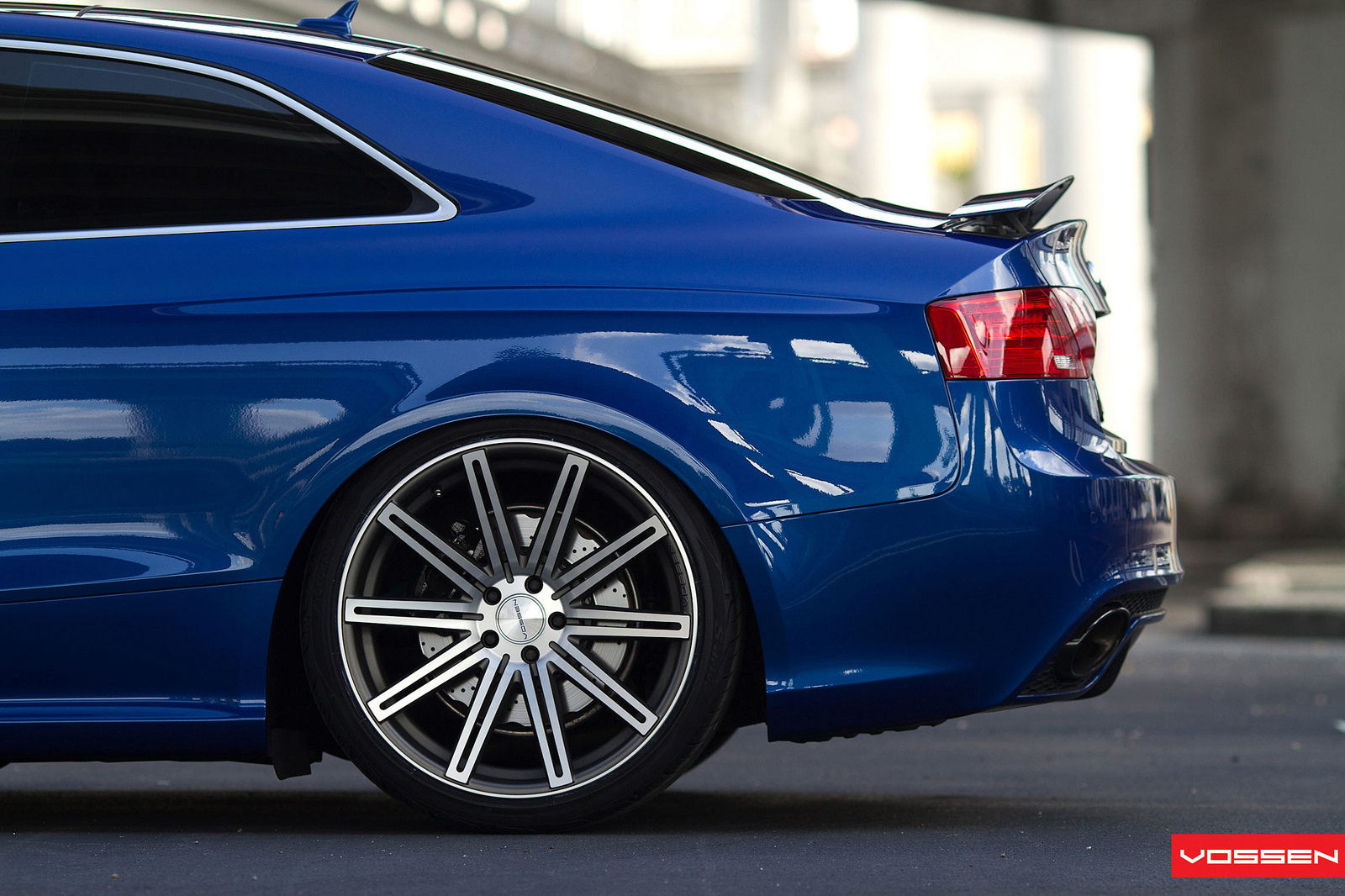 and details audi rs5 on vossen wheels from story new audi rs5