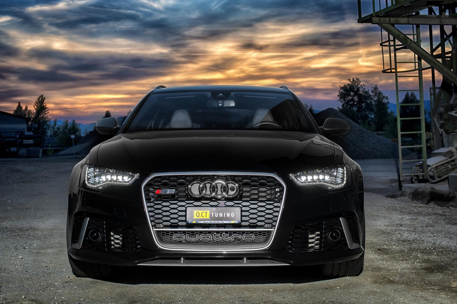 audi rs6 avant tuning rs tuned ct oct hp quattro official cars autoevolution front exhaust 670hp 880nm ammo acceleration gives
