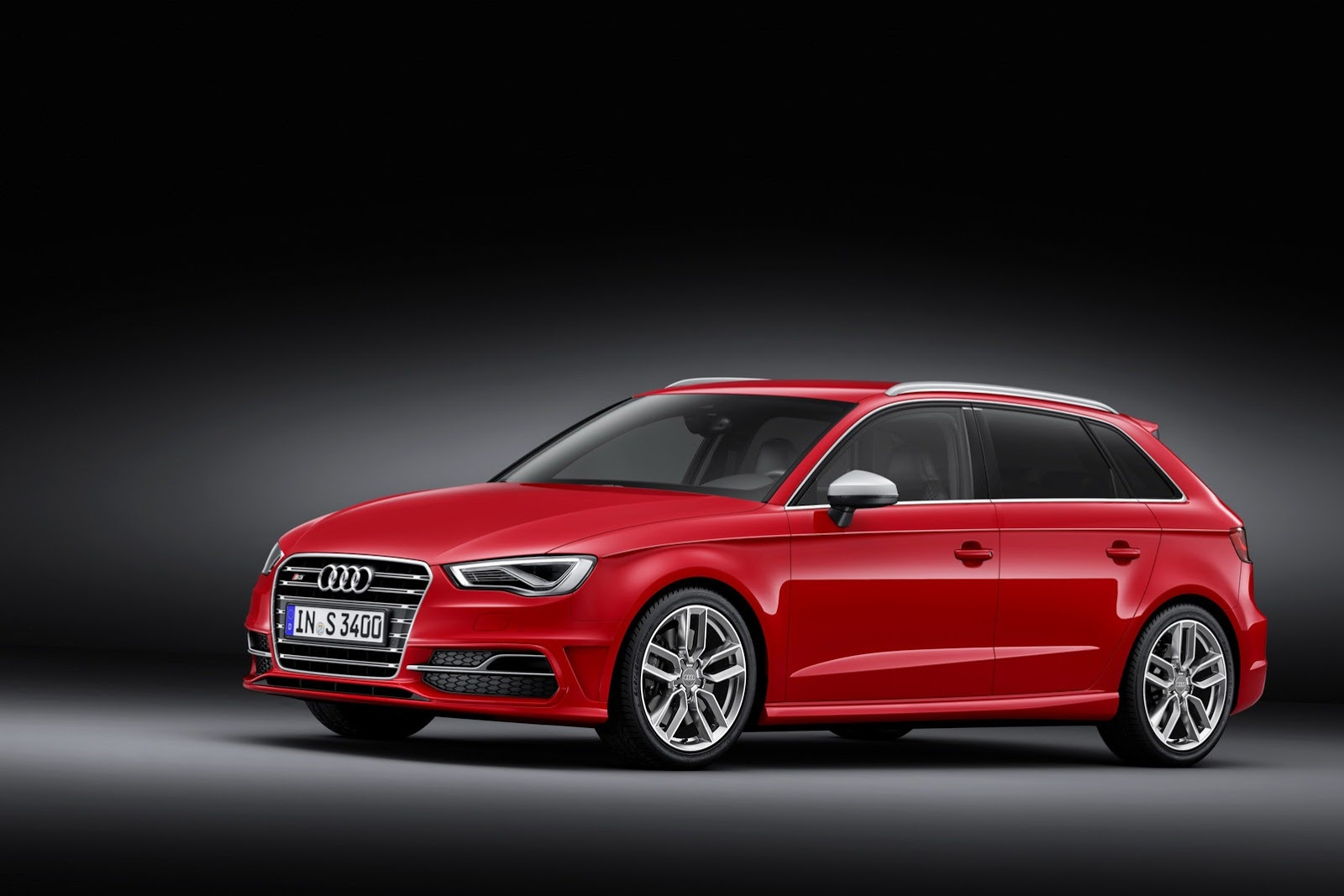 new audi s3 five door sportback has 300 hp autoevolution. Black Bedroom Furniture Sets. Home Design Ideas