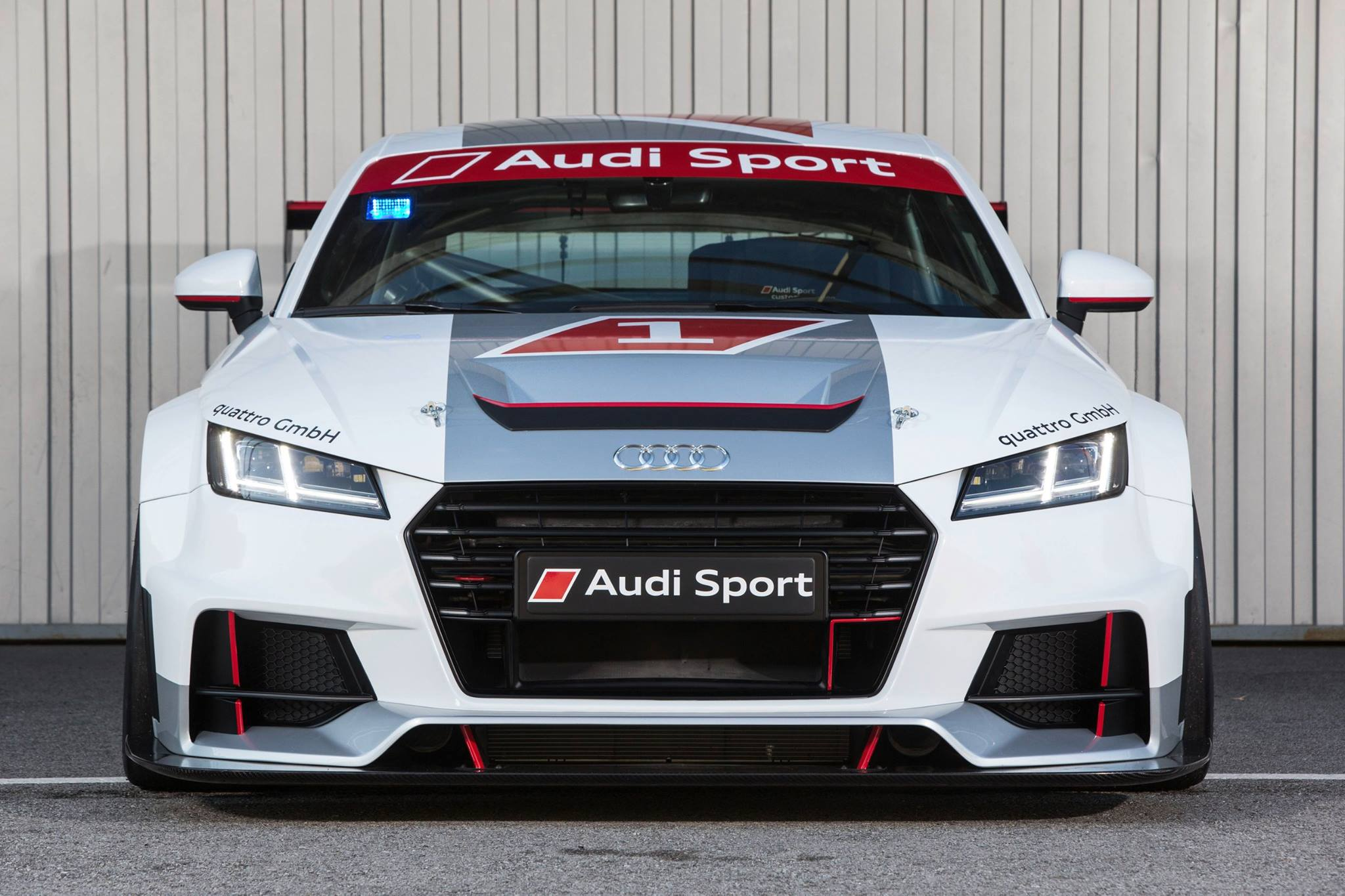 new audi sport tt cup racer cuts grass roots with carbon splitter autoevolution. Black Bedroom Furniture Sets. Home Design Ideas