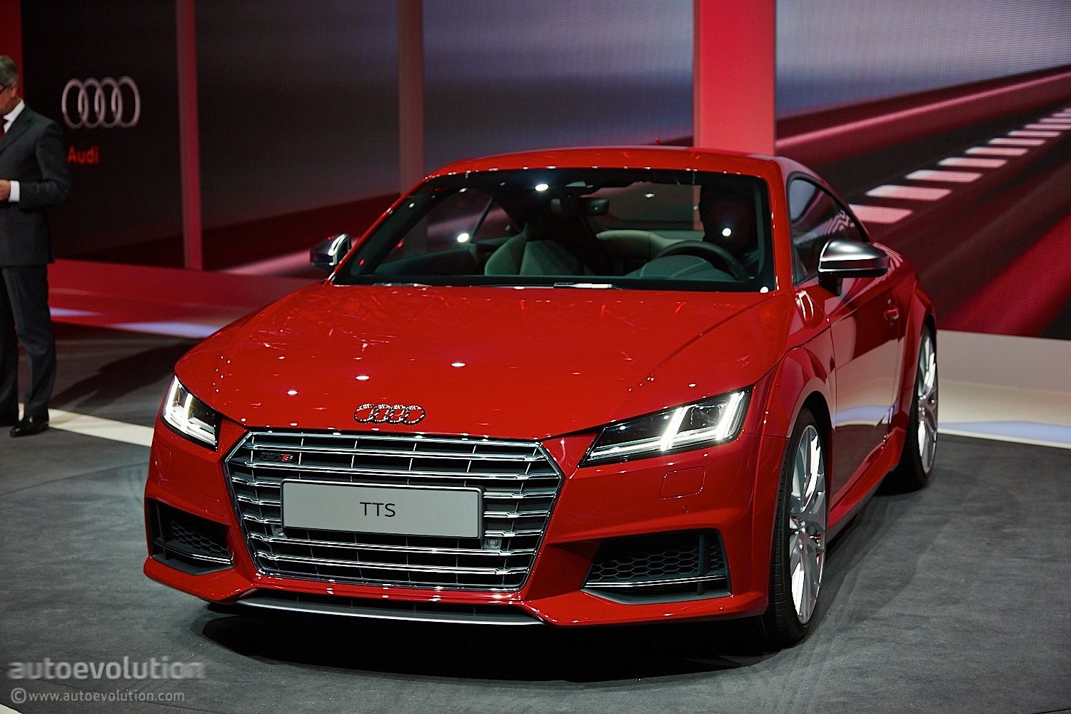 New Audi TT and TTS Coupes Get Evolutionary Styling and Impressive