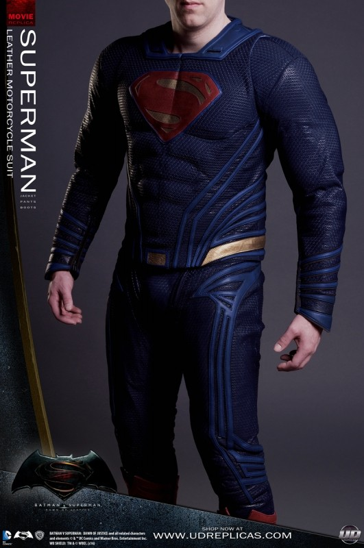 New Batman And Superman Motorcycle Leathers From Ud