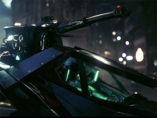 New Batmobile From Batman Arkham Knight Packs Guns Autoevolution