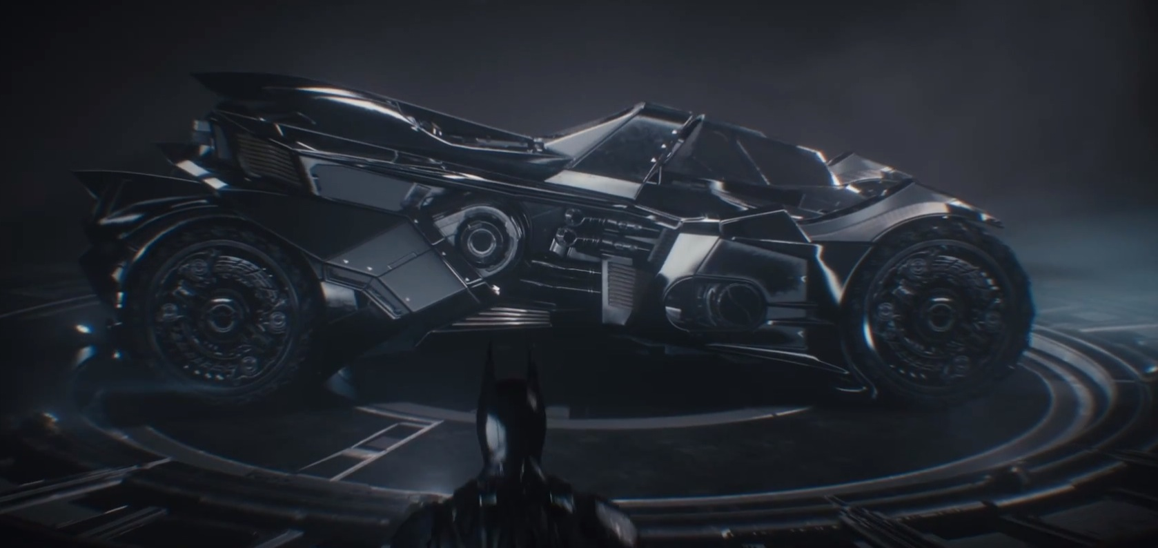 New Batmobile From Batman Arkham Knight Packs Guns Autoevolution