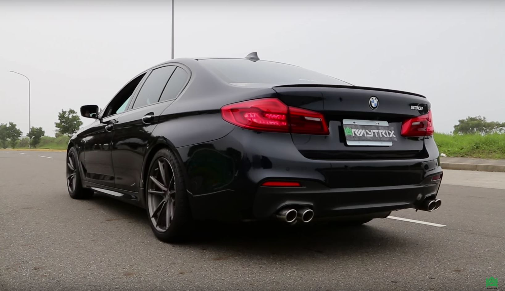 new bmw 530i with armytrix exhaust sounds like a hot hatch autoevolution. Black Bedroom Furniture Sets. Home Design Ideas