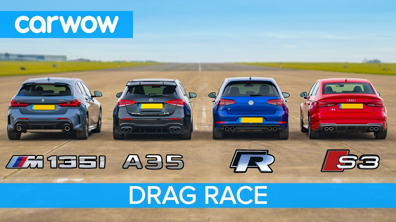 Audi S3 vs. Mercedes-AMG A35: Acceleration and Exhaust ...