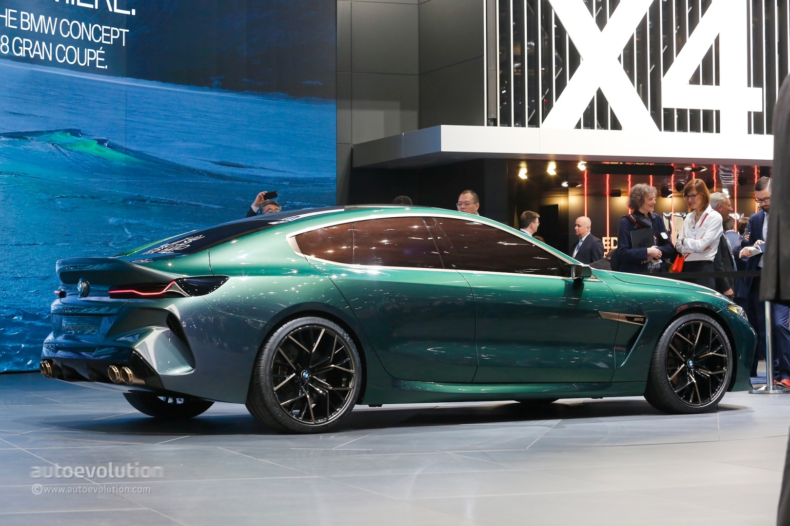 One Seater Car >> BMW M8 Gran Coupe Production Car Rendered, Out for Mercedes-AMG GT 4-Door Blood - autoevolution