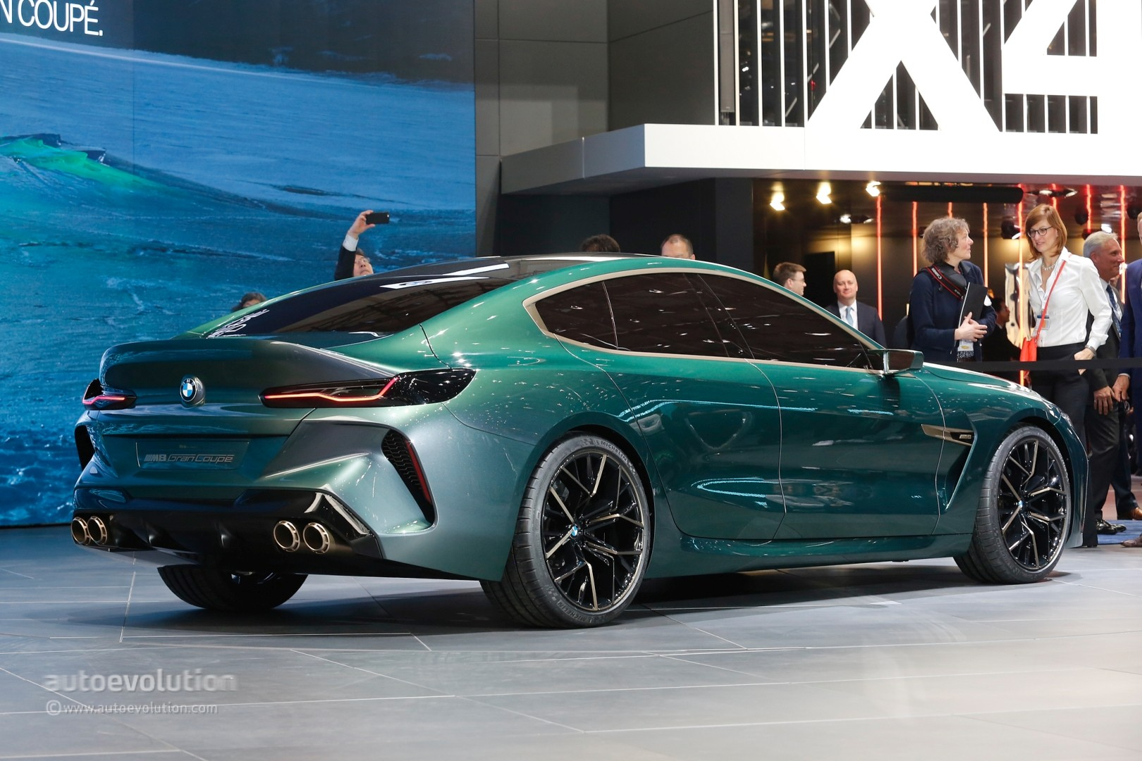 new bmw m8 gran coupe previewed by geneva concept with