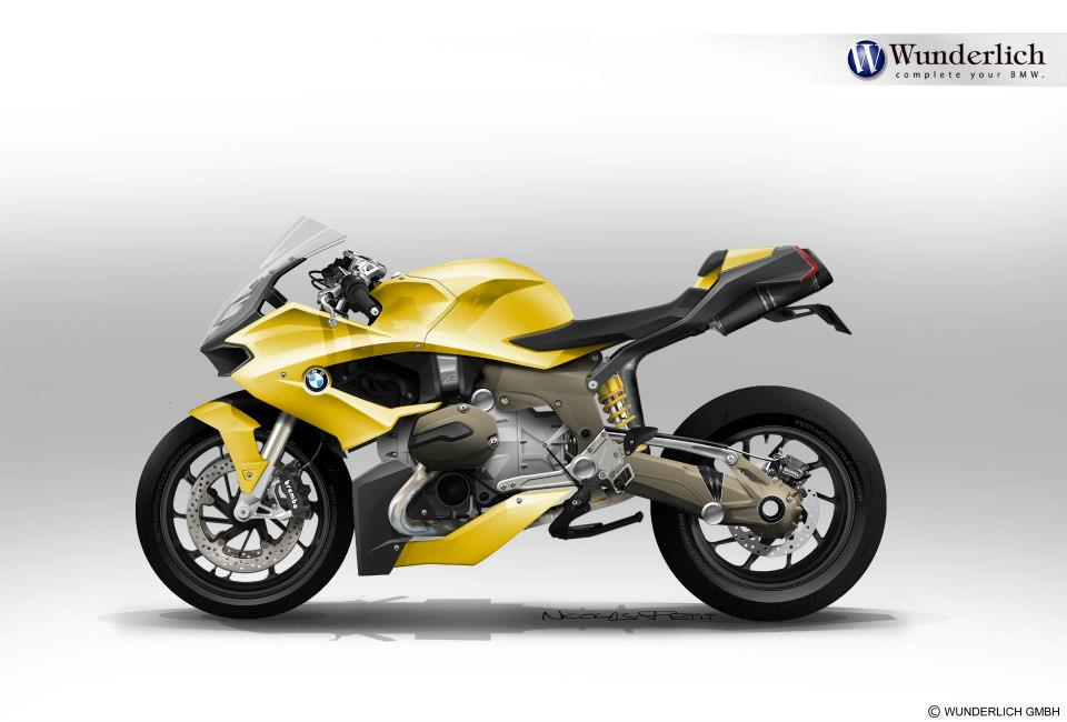 Bmw S1000rr For Sale >> New BMW R1200S Custom Sketches Looking Great - autoevolution