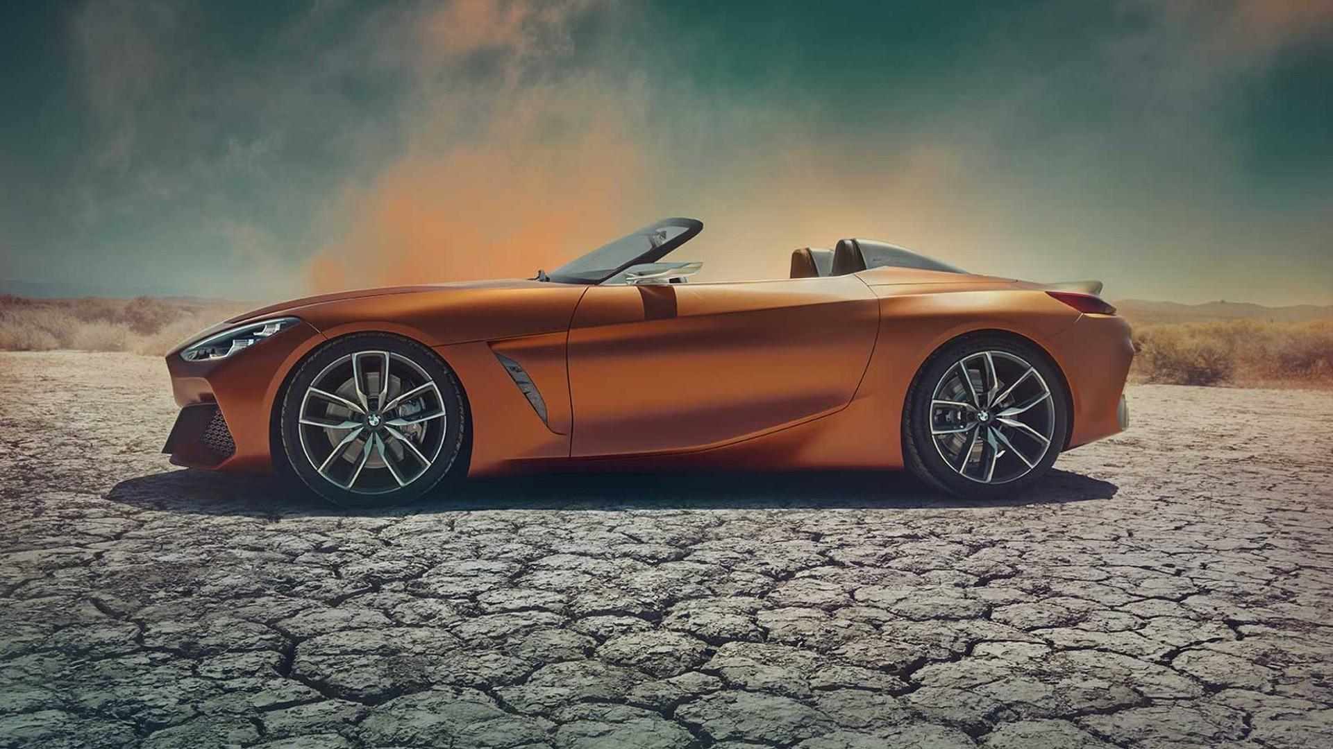 2018 bmw z4 toyota supra. bmw z4 roadster concept is out and looks better than imagined 2018 bmw toyota supra