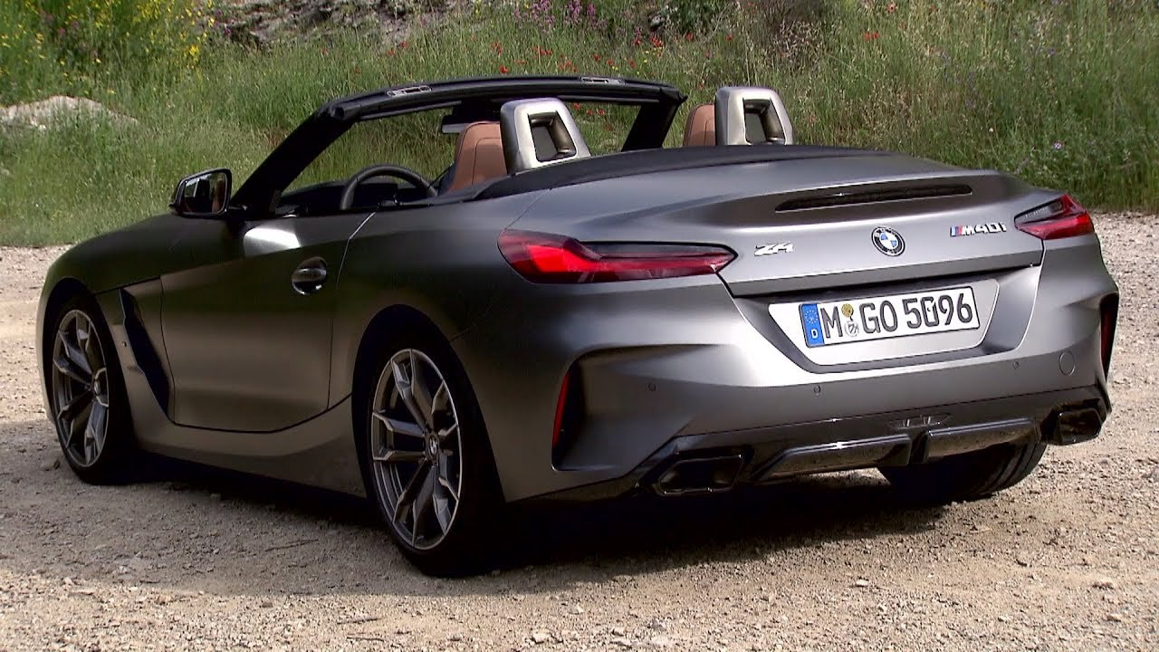 New Bmw Z4 Stars In First Official Videos Shows Frozen